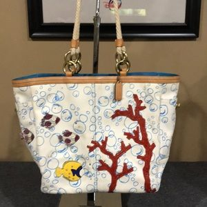 Coach Limited Edition Fishing Satchel